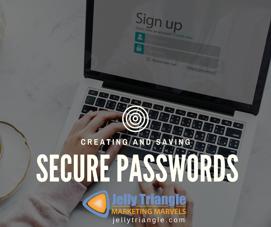 Creating Saving Secure Password FB