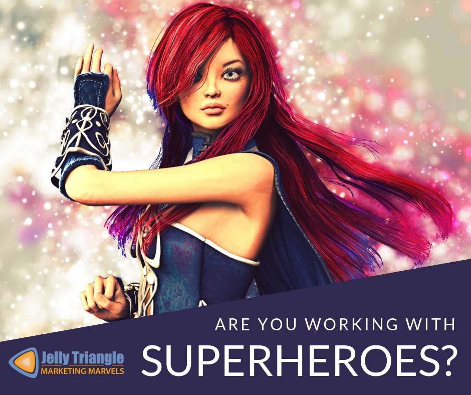 Working with superheroes FB